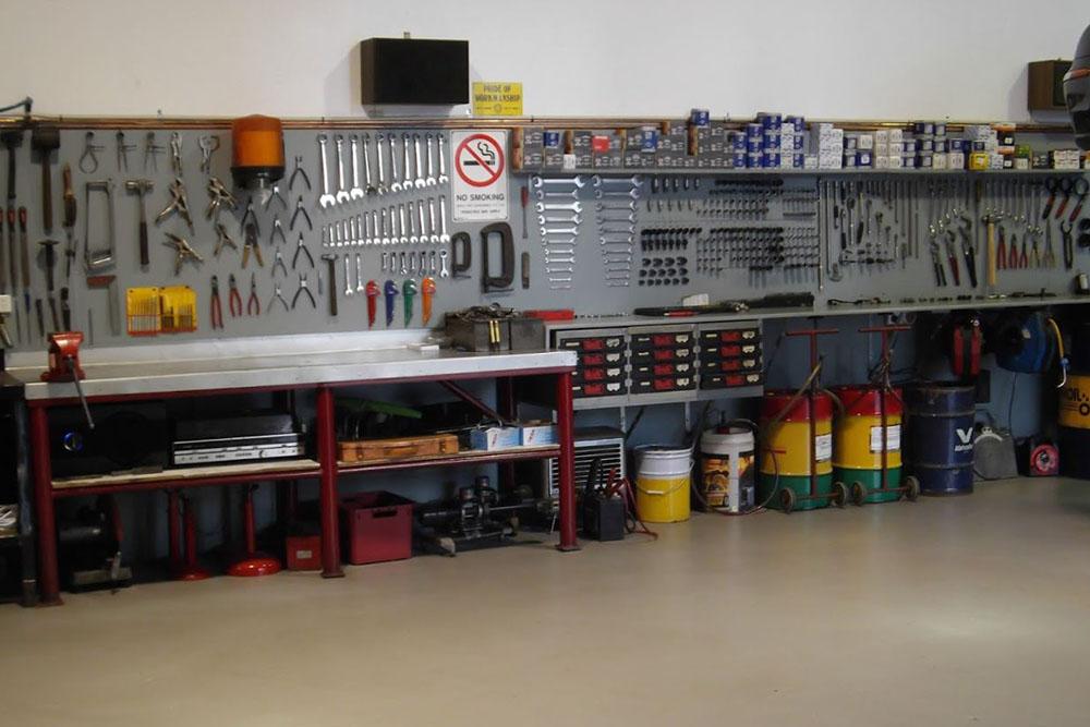 Parsons Motors workshop image